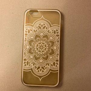 Boho clear IPhone 6s case